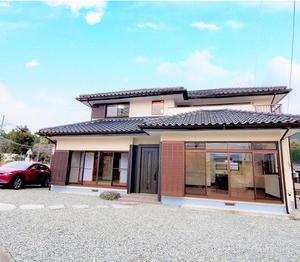 【売買】富士宮市大中里の中古住宅 価格を見直しました