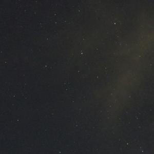 ペルセウス座流星群の流れ星が見えた!!
