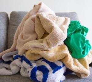洗濯物が畳めずにたまっている方へ