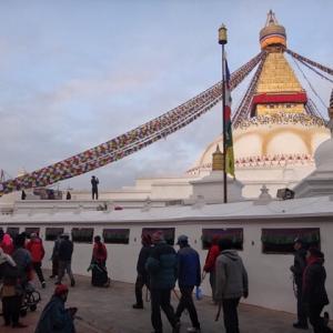 ネパール食べ納めとカトマンズ周辺観光