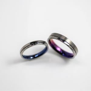 金属アレルギー対応のお肌に優しい結婚指輪 鮮やかなカラーリング 雅-miyabi-表参道