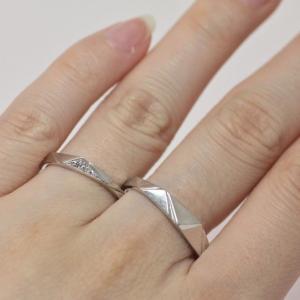 シンプルでありながらお洒落 他にはない結婚指輪 雅-miyabi-表参道