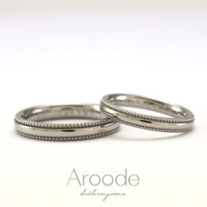 金属アレルギーでも可愛い、シンプルな結婚指輪ございます!!お肌に優しいチタンリング 雅 表参道