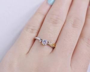 プロポーズをお考えの男性様必見!!プロポーズリングに人気の婚約指輪♪ 雅-miyabi-表参道