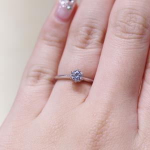 プロポーズにぜひ欲しい!!!シンプルで合わせやすい婚約指輪 雅-miyabi-表参道店
