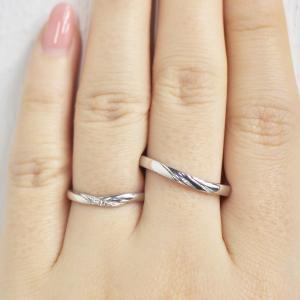 婚約指輪との重ね着けにおススメの結婚指輪 日本人らしい結婚指輪 雅-miyabi-表参道