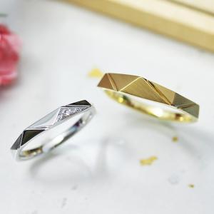 強そうなカッコいい結婚指輪 雅-miyabi-表参道