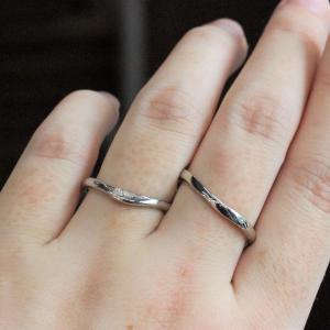 和の結婚指輪 夏らしい涼しげな細身の個性派リング 雅-miyabi-表参道