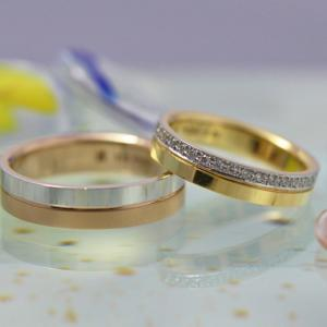 婚約指輪と結婚指輪の腕(アーム)のデザインにつて【豆知識】 雅-miyabi-表参道