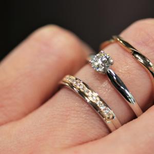 婚約指輪・結婚指輪・記念リング重ねて着けたくなる指輪 雅-miyabi-オリジナル
