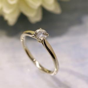 プロポーズにおすすめ♡シンプル上品な婚約指輪【京都本店】