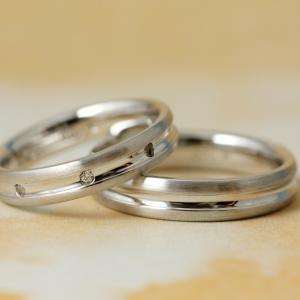 シンプルさと優しさと力強さと…✧*⁺永遠を誓う穏やかな結婚指輪【京都雅店】