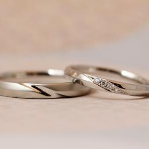 男性に人気のスマートで洗練されたシンプルなストレートラインの結婚指輪✧*【京都本店】
