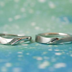 心静かにふたりの時を過ごして… 和がモチーフ『禅』の結婚指輪【京都本店】