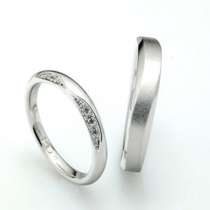 着け心地最高!ウェーブラインにこだわった結婚指輪【京都本店】