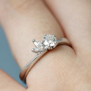 京都生まれの上品で可愛い和の婚約指輪【京都本店】