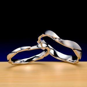 シンプルだけど個性的な結婚指輪♪カスタマイズもご相談ください!