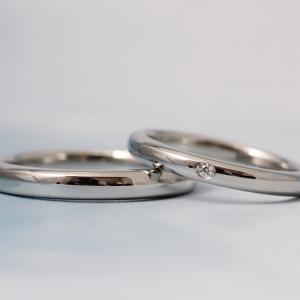 結婚指輪の「シンプル」ってなんだろう?【京都本店】