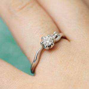 細部にまでこだわった和の心感じる婚約指輪♡【京都本店】