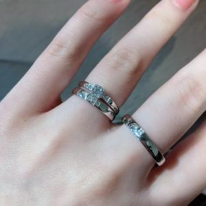 DEAREST(ディアレスト)☆クロスモチーフが現れる結婚指輪
