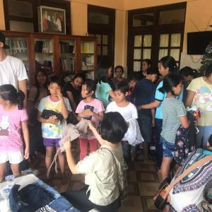 バリ島孤児院慰問ご協力ください