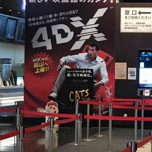 4DX映画の揺れがヤバイ!