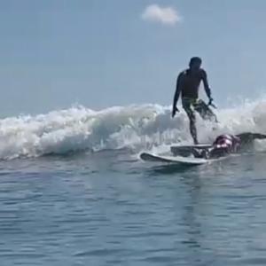 久々のサーフィン