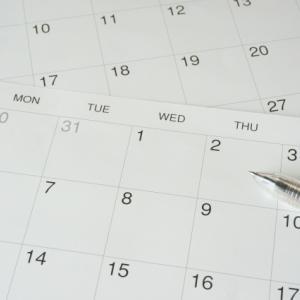 家族の予定を簡単に把握するためにファミリーカレンダーを購入しました!