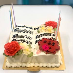夫の誕生日