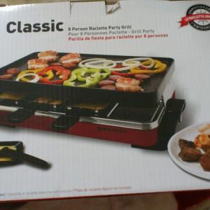 Swissmar 8 Person Stelvio Raclette Party Grill