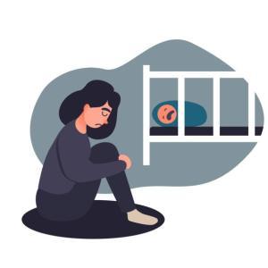 ベビーブルー、周産期うつ、周産期精神病の違い