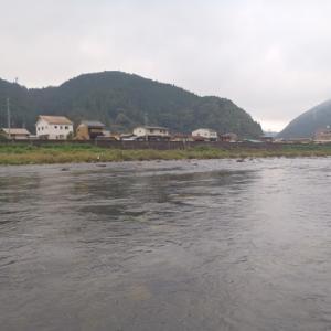 9月14日 長良川アユ釣り  撃沈1