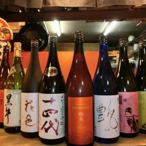 和食 花くるま お宝到着です「鍋島 ハーベストムーン」秋上がりの大本命酒入荷