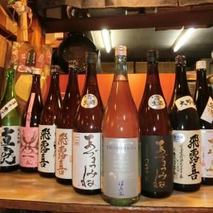 和食 花くるま お宝到着です 津島屋外伝 純米吟醸PrototypeM試作酒