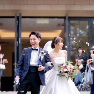 花嫁さまの笑顔