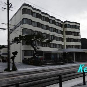 若狭小浜「サンホテルやまね」(1)天然温泉は嬉しいんですが・・・ 〔福井県小浜市〕