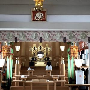蛇窪神社でご祈祷をしていただく