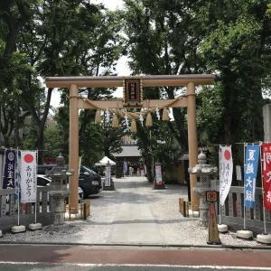 ご縁深い蛇窪神社で夏越の大祓をして