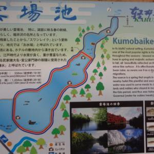 【軽井沢】紅葉の名所「雲場池」