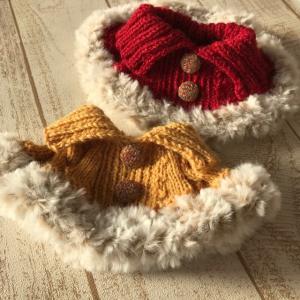 編むことが好き。