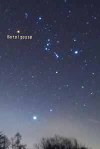 一大天体ショー ベテルギウス爆発間近?