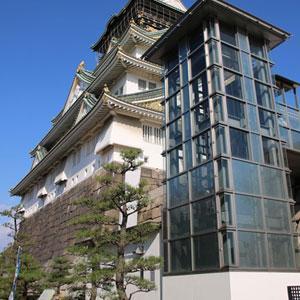 大阪城にエレベータ?!