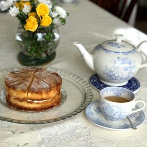 今年の最初のお茶クラス  は英国紅茶 ダージリン
