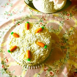 ティータイム実践コース 新メニュー    キャロットケーキ