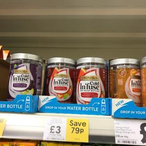 イギリス   スーパーで売っていたアイスティー用のお茶