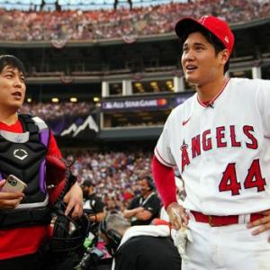 大谷翔平MLBホームランダービー