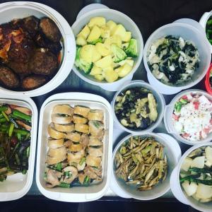 【出張家庭料理】下ごしらえ済みだと、いつでも出来立てが食べられます。