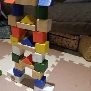 積み木でお城を作りたい