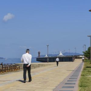 海岸散歩 2020 秋 高松港の昼下がり