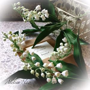 可愛いスズラン!ボタニカルなお花たち